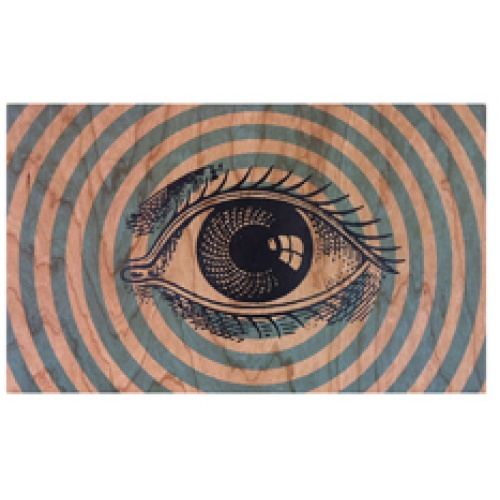 Wooden wall art all seeing eye clothing brand inspiration pinte
