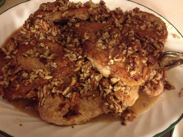 Honey Pecan Pork Chops Recipe - Food.com - 157418