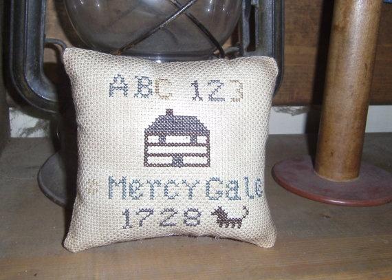 Primitive Mercy Gale 1728 Cupboard Tuck by pilgrimsandpioneers, $18.00