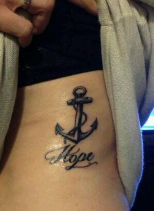 Hope Anchor Tattoo