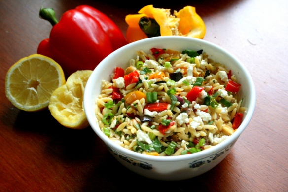 Orzo with roasted vegetables | FOODS ARE MY FAVORITE. | Pinterest