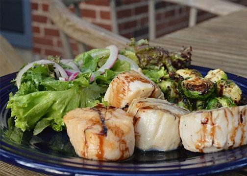simple summer scallops | yummy food | Pinterest