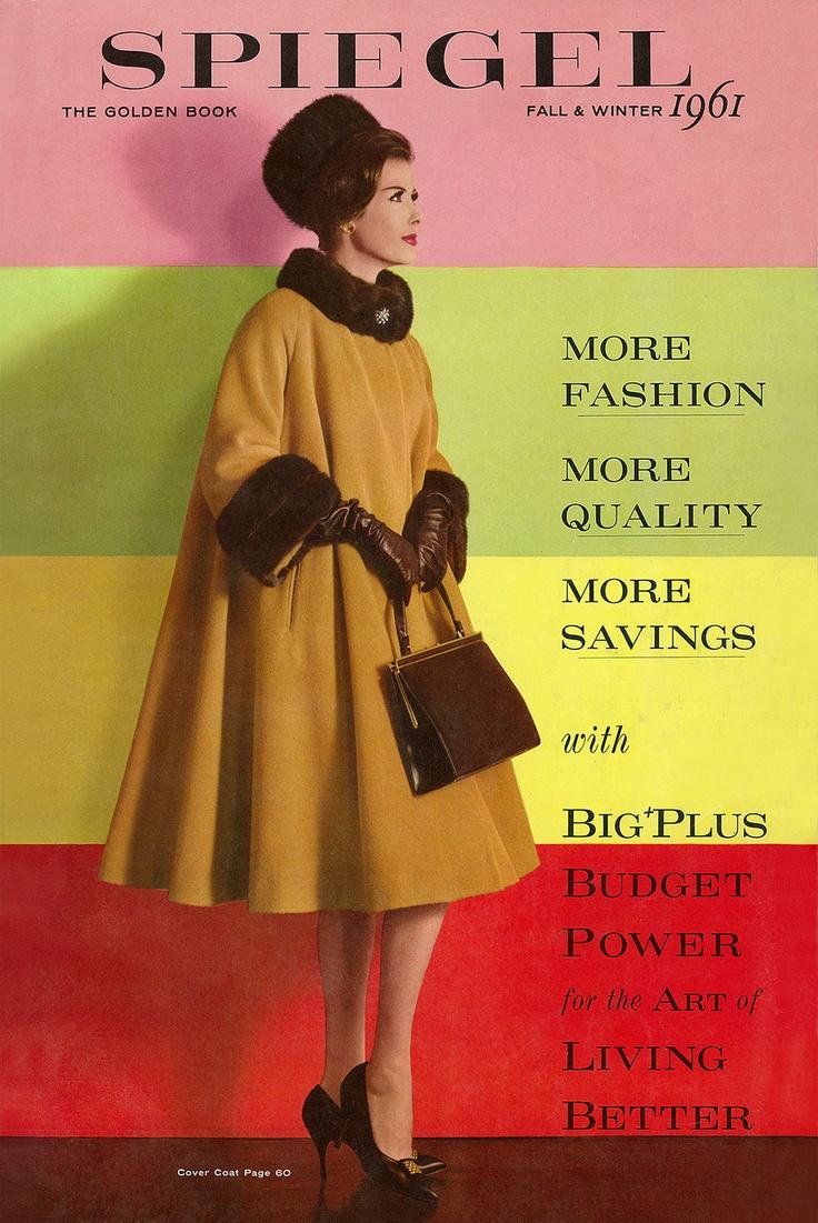 1961 spiegel catalog cover vintage ads pinterest. Black Bedroom Furniture Sets. Home Design Ideas