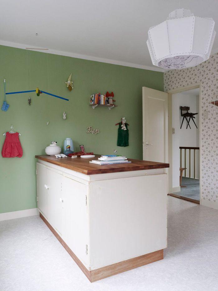 Groene Keuken Muur : Groene Keuken Muur : groene keuken groene muur groene muur combineren