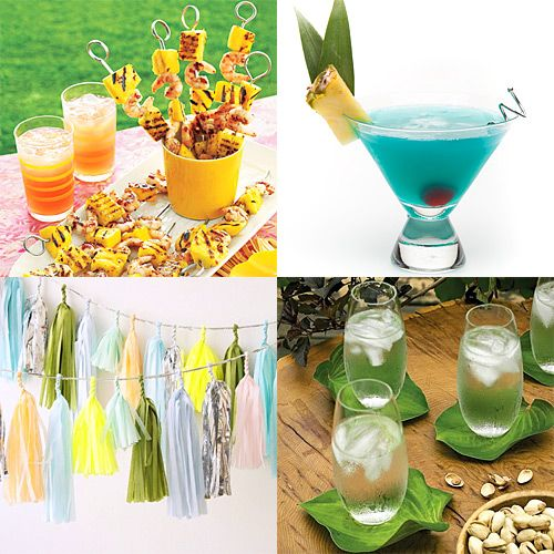 Hawaiian Themed Backyard Party : Tiki Party  Party Ideas ~ YAY!  Pinterest