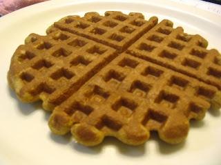 Banana Teff Walnut Waffles Recipe- GF, Casein Free, Whole grain