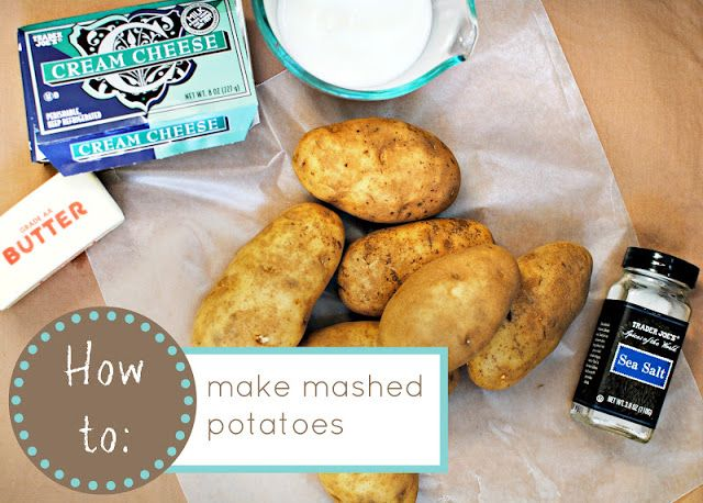 Easy Mashed Potatoes | Been there, loved that | Pinterest