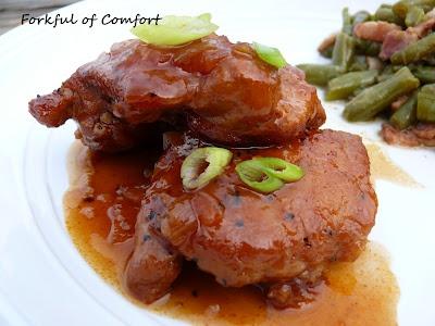 Peach-Whiskey BBQ Chicken | Recipe | Pinterest