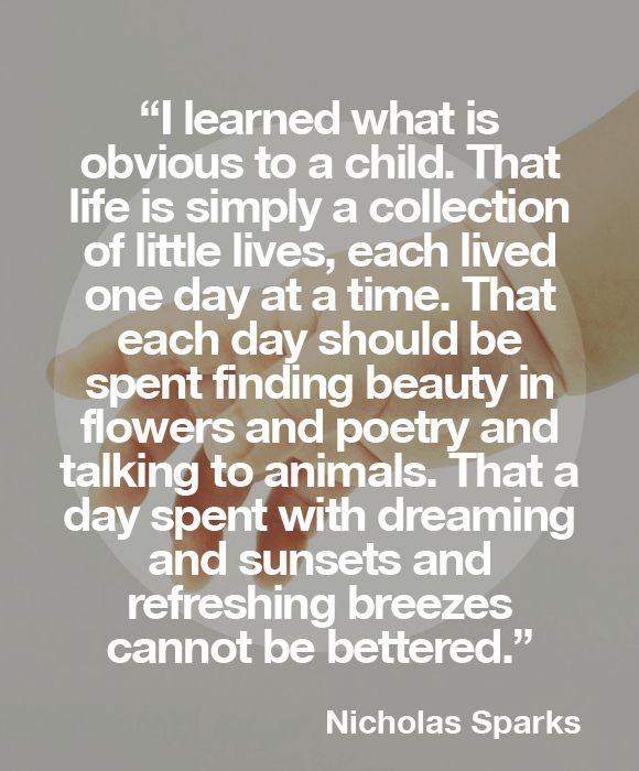 Nicholas Sparks quotes Quotable. Pinterest