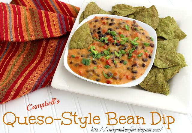 Easy Queso-Style Bean Dip | Kitchen Time! | Pinterest