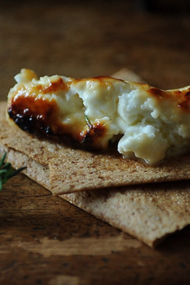 Roasted Feta with Thyme Honey | Food and Libations | Pinterest