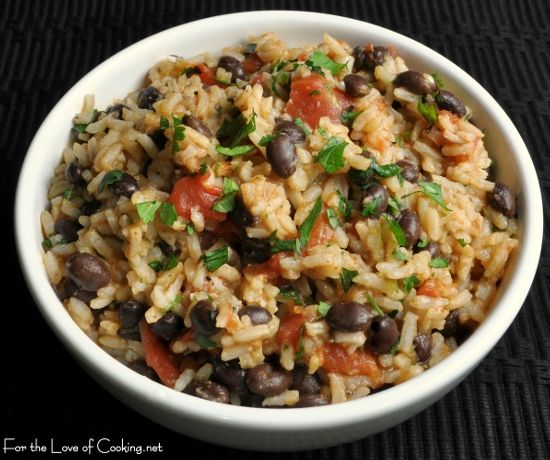 Mexican Tomato Rice and Beans | Dinner Ideas | Pinterest