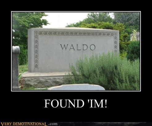 Where the hell is Waldo?