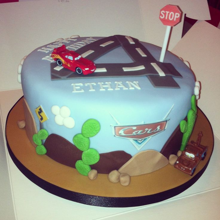 Disney Pixar Cars Cake Design : Disney Pixar Cars Birthday Cake
