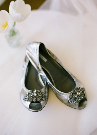 Bridal Flats // Photo: Esther Sun Photography // Coordination: live.love.create events // TheKnot.com