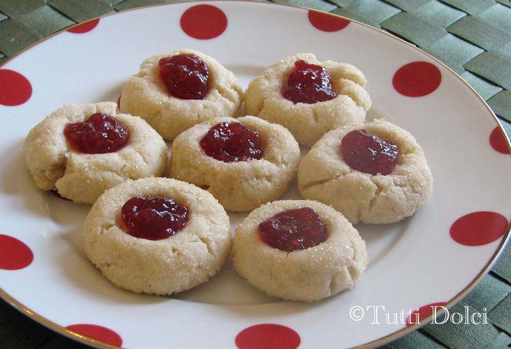 Best Raspberry Thumbprint Cookies | Raspberry Thumbprints copy