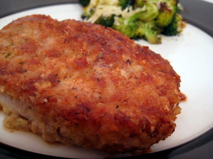 Baked Pork Chops/Parmesan Sage Crust (10) Recipes!