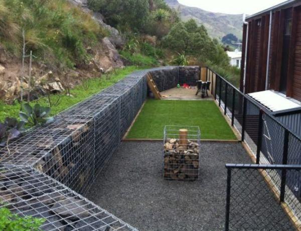 Gabion Retaining Wall : retaining walls