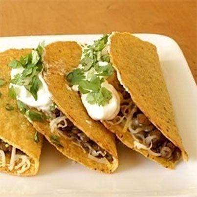Spiced Lentil Tacos | Vegetarian | Pinterest