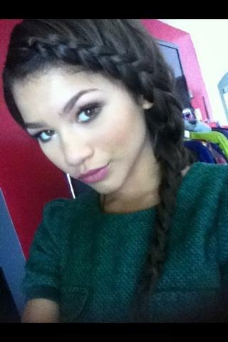 Zendaya - braid | Hairstyles | Pinterest