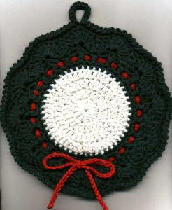 Easy Pattern to Crochet a Potholder - HubPages