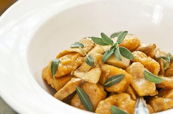 Gluten-Free Sweet Potato Gnocchi with Brown Butter and Sage