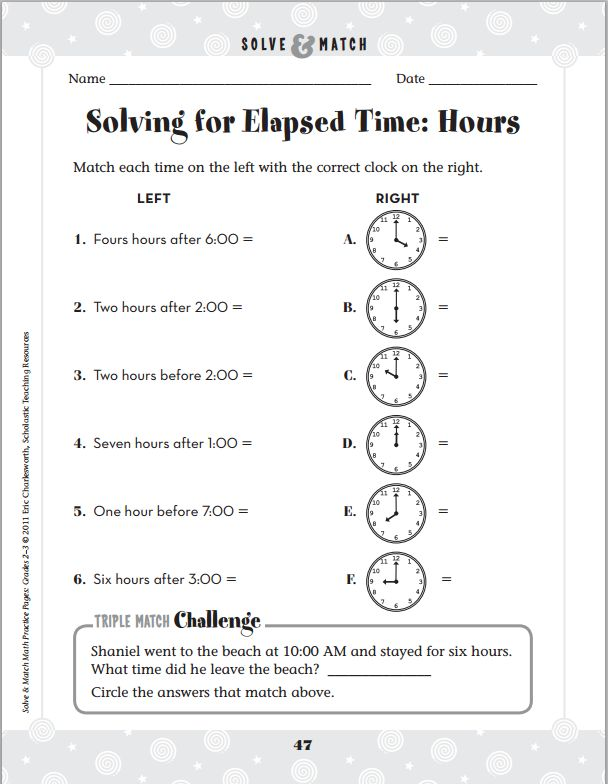 Free Worksheets Time Elapsed Worksheets Word Problems Free – Elapsed Time Word Problems Worksheets