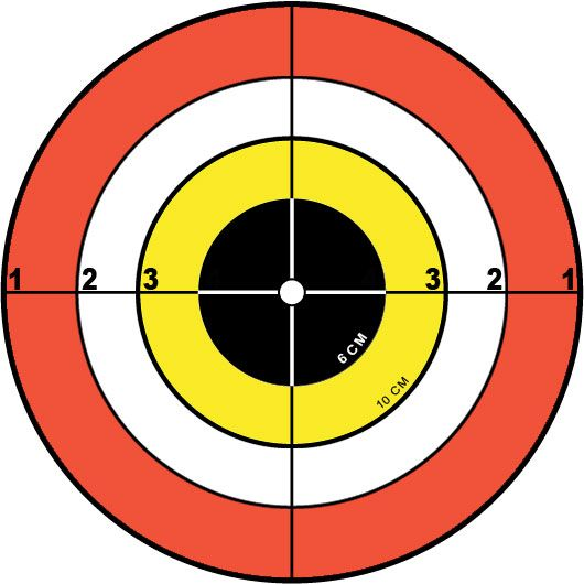 shooting targets to print | CHOOSE FILE PRINT TARGET: PAGE 1