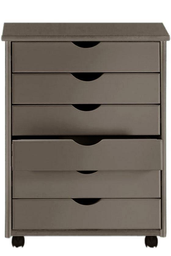 Stanton 6-Drawer Wide Cart - Storage Carts & Chests - Storage & Organization - Home Decor | HomeDecorators.com