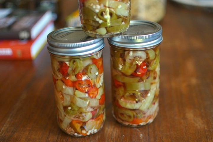 pickled hot pepper rings | Yummo Preserves, Pickles, Condiments, Sauc ...