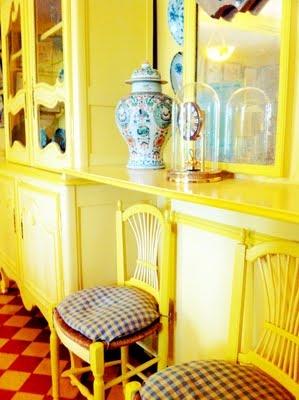 Inside Monet's home...he wasn't afraid of a little POC:)
