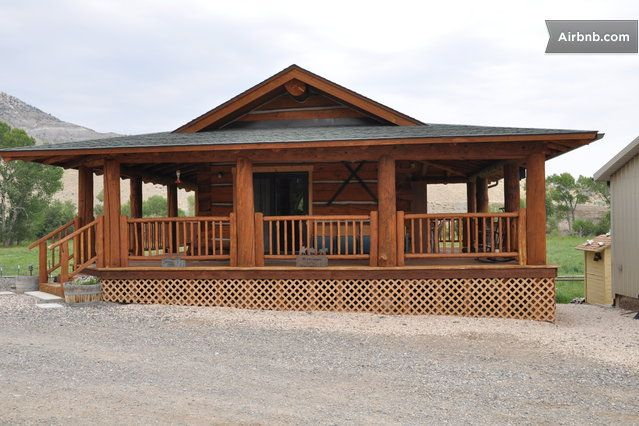 Single wide log cabins joy studio design gallery best for Mobile home with wrap around porch