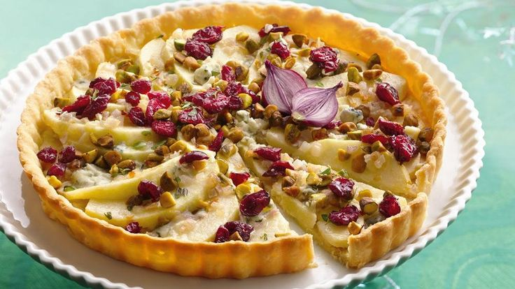 Apple and Blue Cheese Tart   Recipe