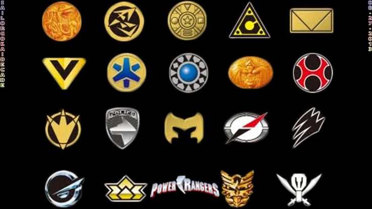 Similiar Power Ranger Symbols Meaning Keywords