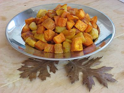 Roasted Sweet Potatoes and Apples | Mmmm...Yummy! | Pinterest