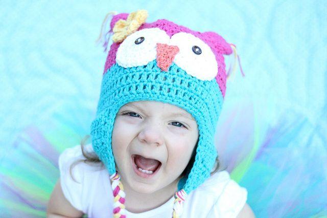 Free Crochet Pattern Owl Hat : Owl Hat free pattern adult size Crochet Pinterest