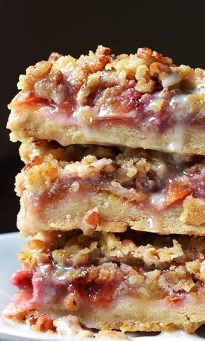 peach amp pecan oat crumble bars gt gt gt gt would substitute the real ...