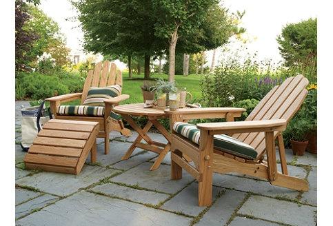 LL Bean outdoor furniture Log Cabins