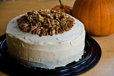Brown Butter Pumpkin Layer Cake | Cara's Healthy Cravings | Pinterest