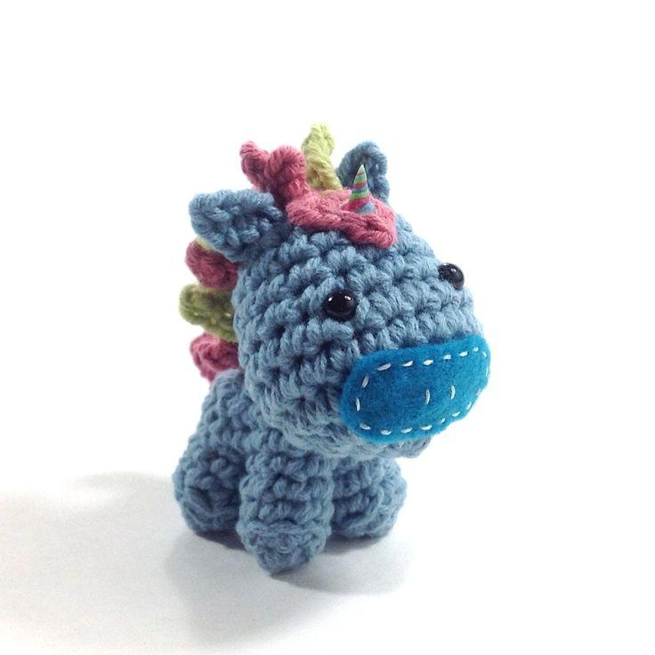 Unicorn Amigurumi : Amigurumi Unicorn