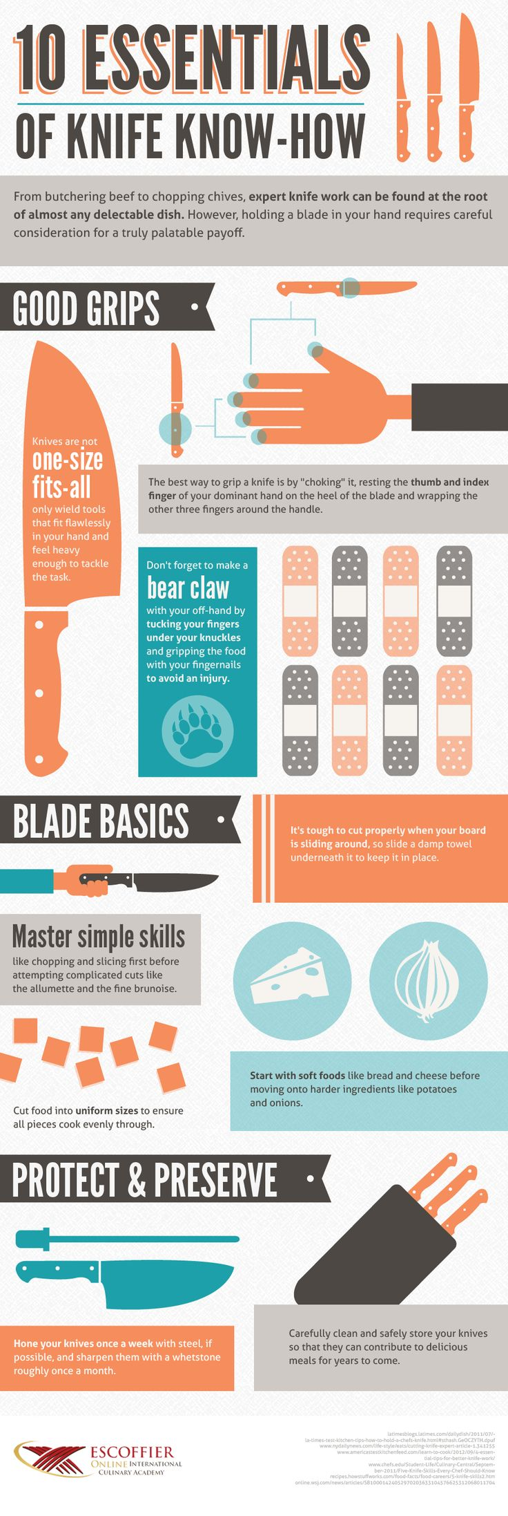 pin by sophie luck on home ec ideas pinterest knife safety tips kitchen knife handling and safety
