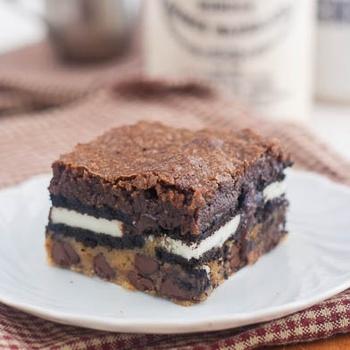 Slutty Brownies | #Guilty&HealthyFOODPleasures | Pinterest
