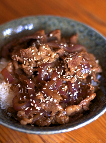 Yum Yum. Japanese Beef and Rice Bowl – Gyudon @Elisa Bieg Marchand I ...