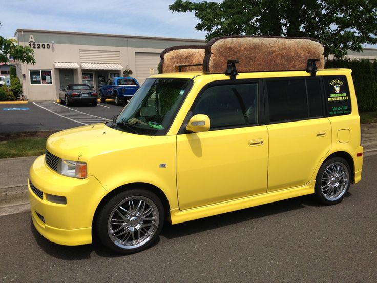 Saw This Car In Oregon Cool Scion Xb Toaster Vroom