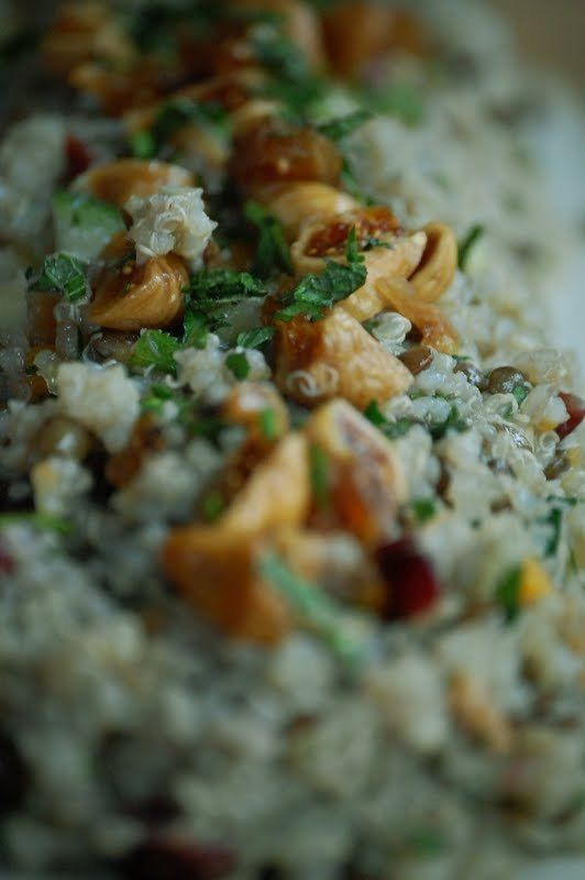 Quinoa Salad with Fig and Cranberry | Side dishes | Pinterest