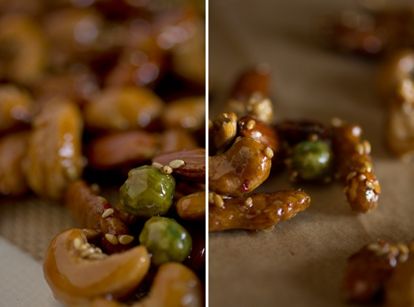 Spicy Asian Brittle - love the asian rice cracker mix. it's my fav ...