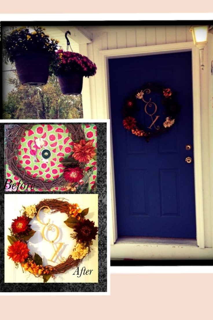 Easy Diy Home Decor Wreath For Fall