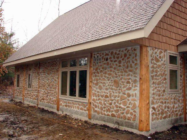 Cordwood home for the home pinterest for Cordwood homes