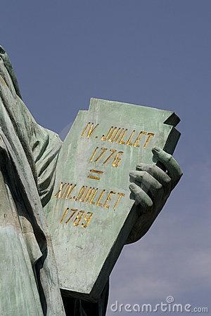 july 4 1776 statue of liberty