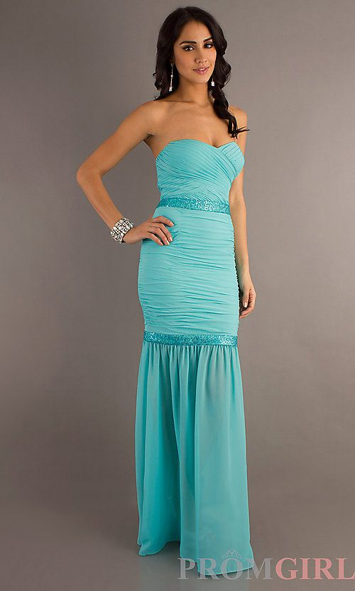 Sweetheart strapless
